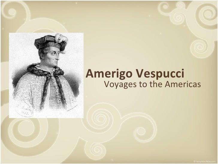 an introduction to the life of amerigo vespucci
