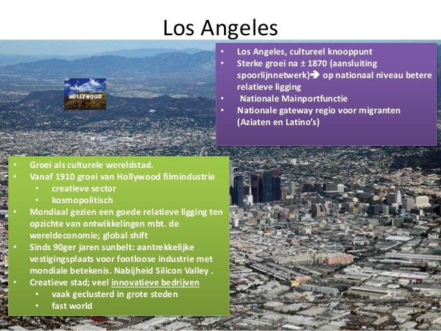 Los Angeles aansluiting sites