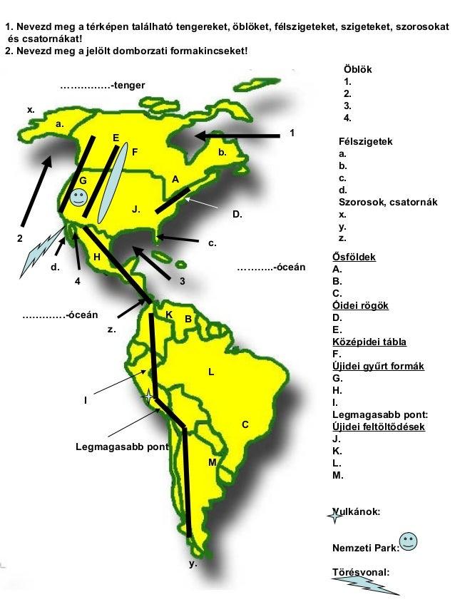 amerika éghajlati térkép Amerika felszíne és éghajlata 7. osztály   dolgozat előkészítő. amerika éghajlati térkép