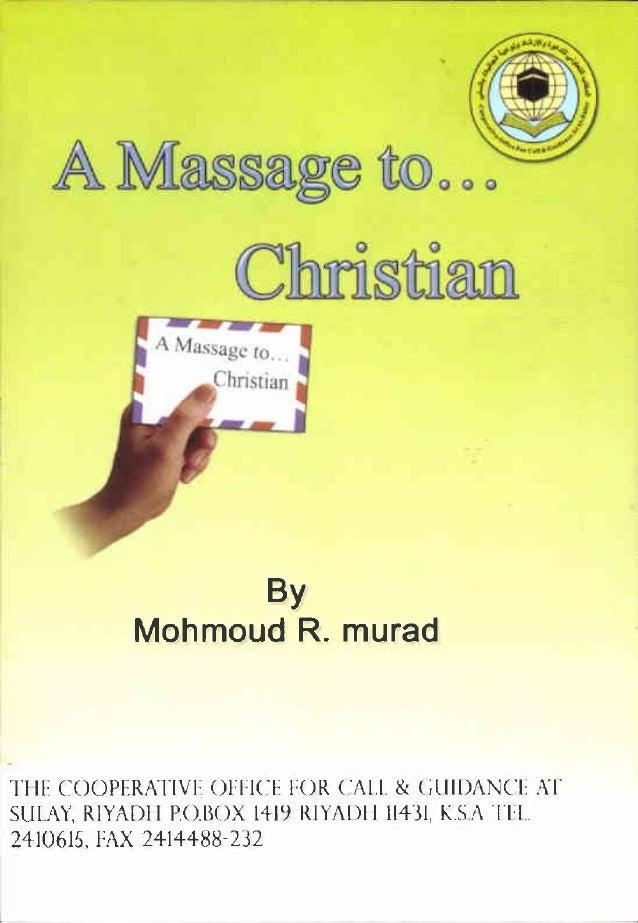 A By Mahmoud R. murad TlIF COOPERATIVF OHICE H)R CAl.1. &. ClilDA CE AT SULAY, RIYADI I Po.BOX 14-llJ RIYiDI I 114'31, KS!...