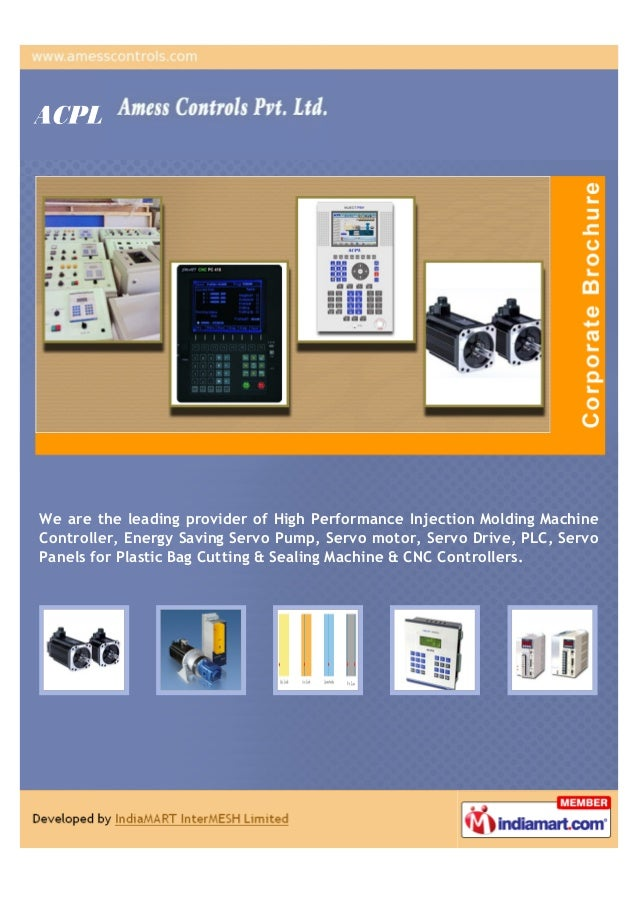 We are the leading provider of High Performance Injection Molding MachineController, Energy Saving Servo Pump, Servo motor...