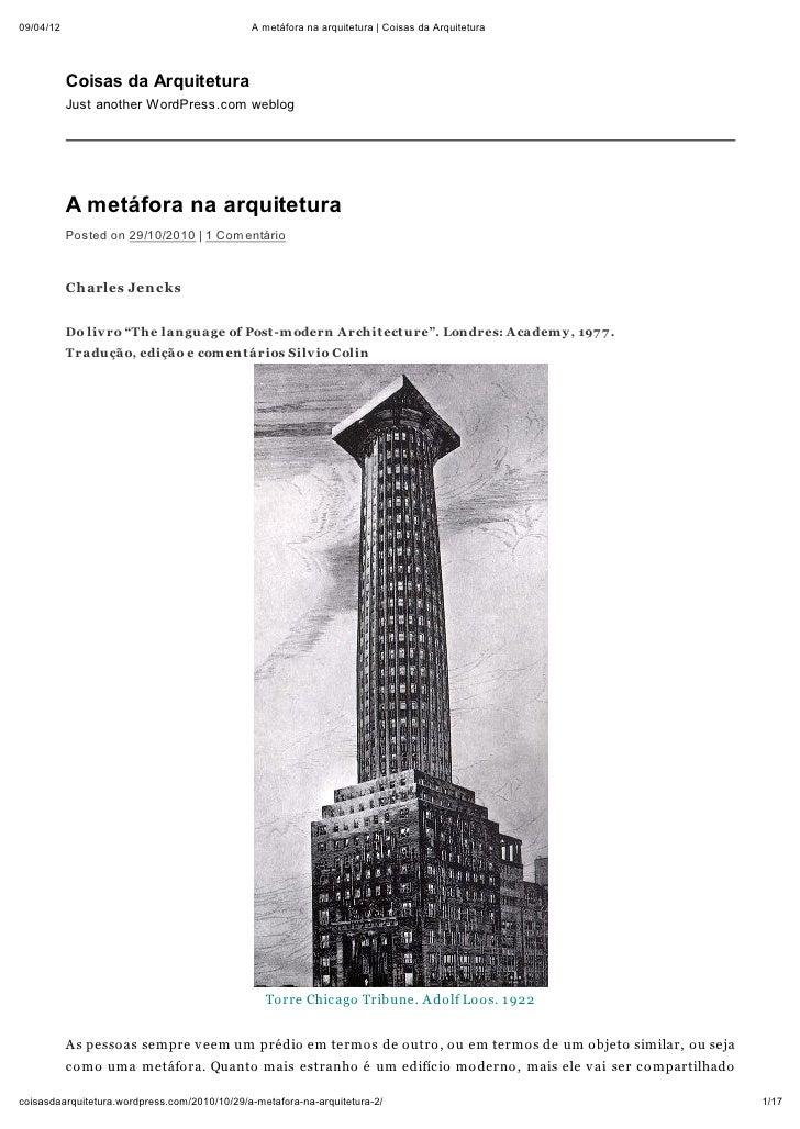 09/04/12                                      A metáfora na arquitetura | Coisas da Arquitetura           Coisas da Arquit...
