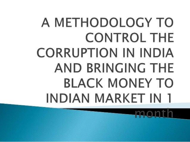 eradication corruption india essay