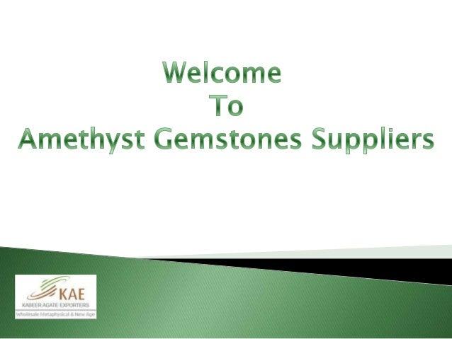Amethyst Gemstone Meaning Gemstones Suppliers