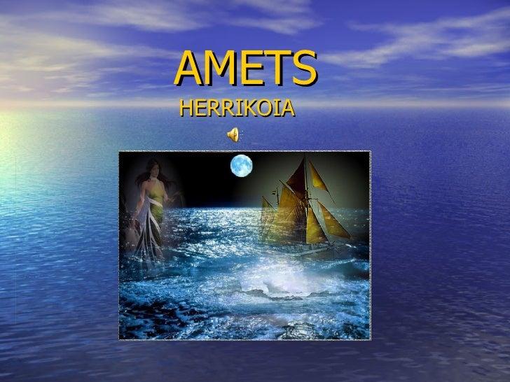 AMETS HERRIKOIA