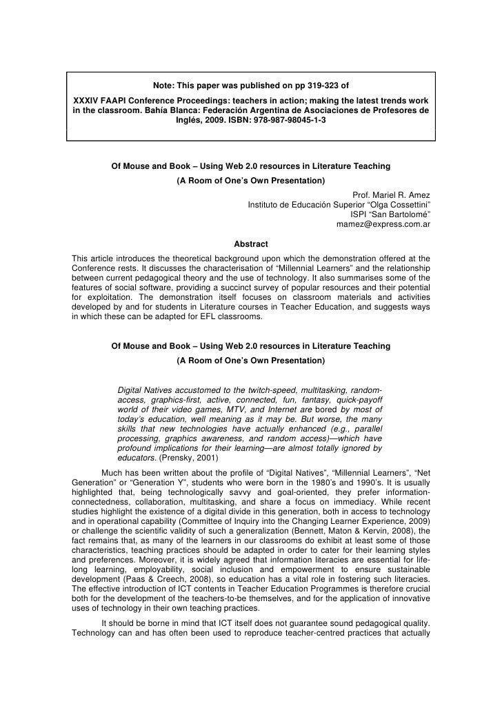 Note: This paper was published on pp 319-323 of XXXIV FAAPI Conference Proceedings: teachers in action; making the latest ...