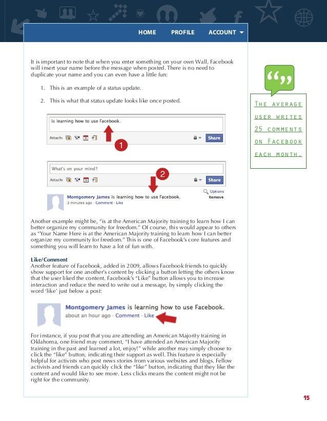 American Majority Facebook Manual