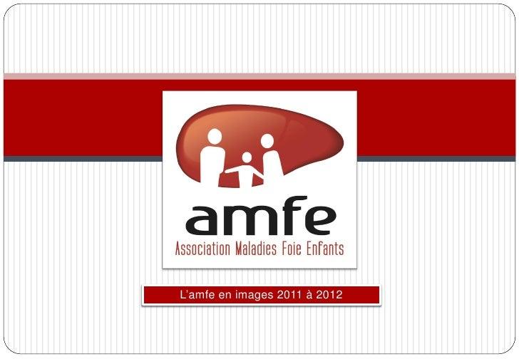 L'amfe en images 2011 à 2012