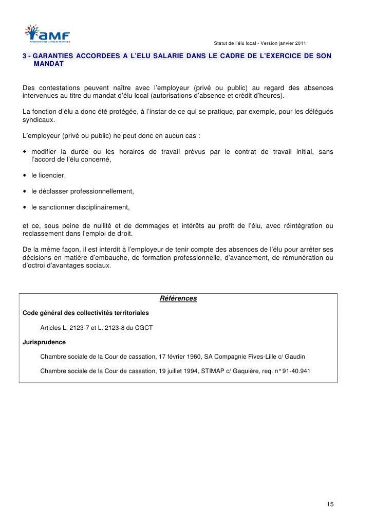 Statut de l 39 lu local 2011 - Chambre sociale de la cour de cassation ...