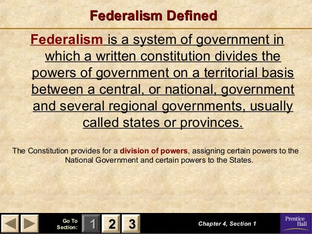 Federalism The Division Of Power Worksheet Answer Key ...