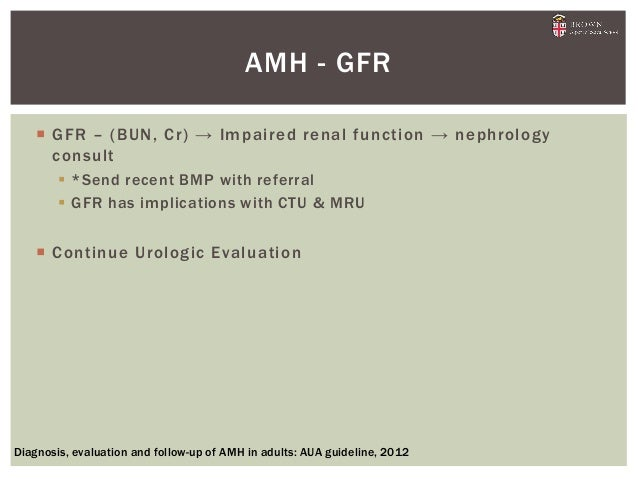 Clinical Practice Guideline  ASAMS