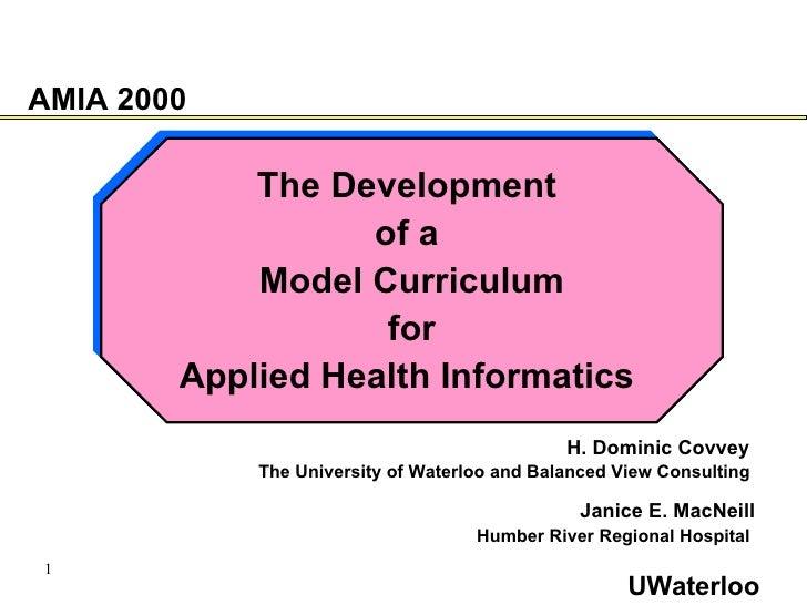 <ul><li>The Development  </li></ul><ul><li>of a  </li></ul><ul><li>Model Curriculum </li></ul><ul><li>for  </li></ul><ul><...