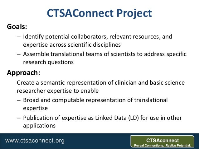 Amia 2013: From EHRs to Linked Data: representing and mining encounter data for clinical expertise evaluation Slide 2