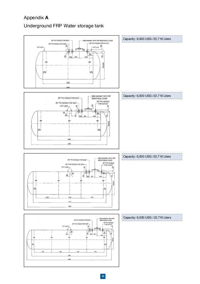 amiantit underground storage tank rh slideshare net GRP Tanks Non-Insulated Planning for Enginnering GRP Tanks