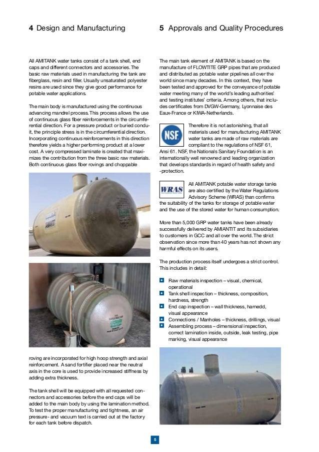 Amiantit Underground Storage Tank