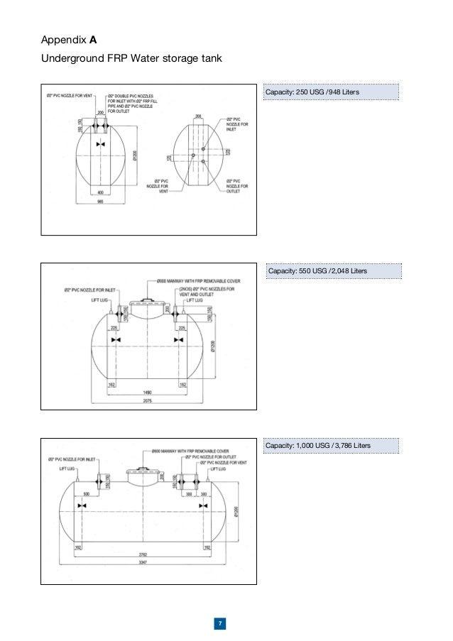 amiantit underground storage tank rh slideshare net GRP Tanks Aquaculture GRP Panel Tank