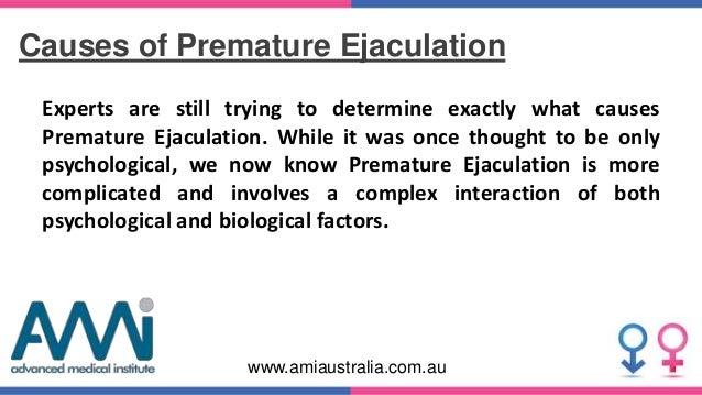 Factors behind Premature Ejaculation