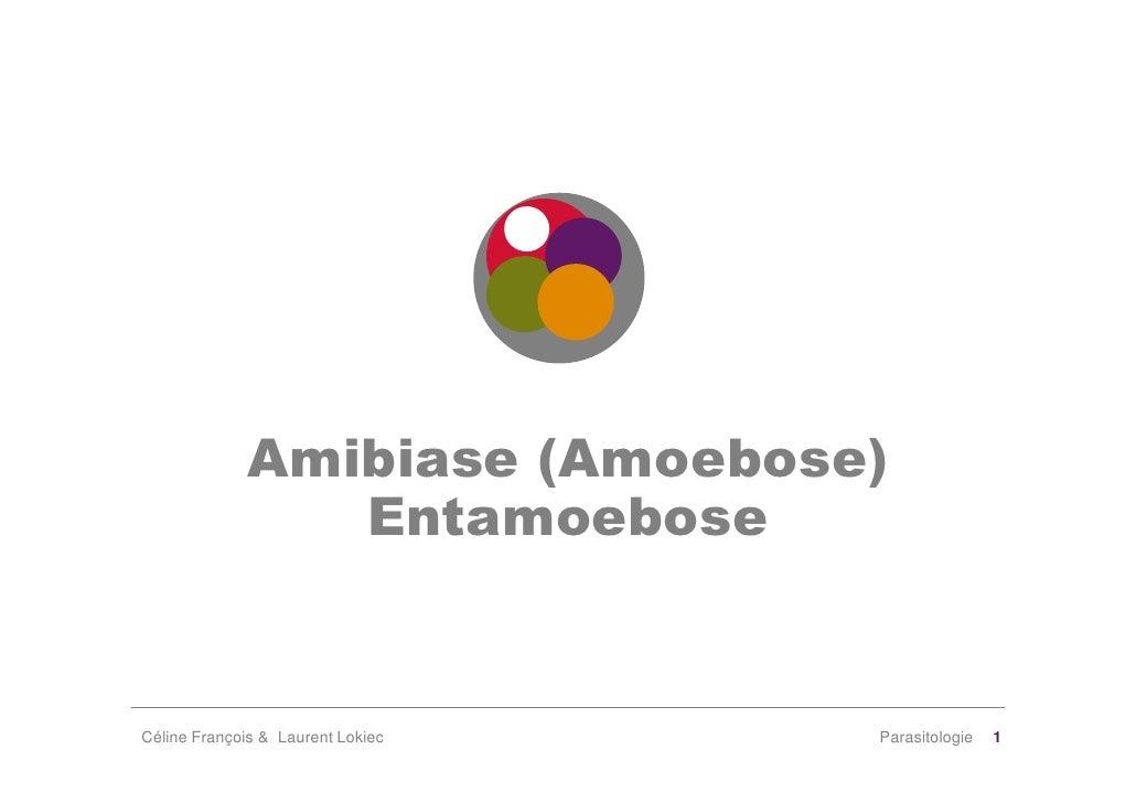 Amibiase (Amoebose)                 Entamoebose   Céline François & Laurent Lokiec   Parasitologie   1