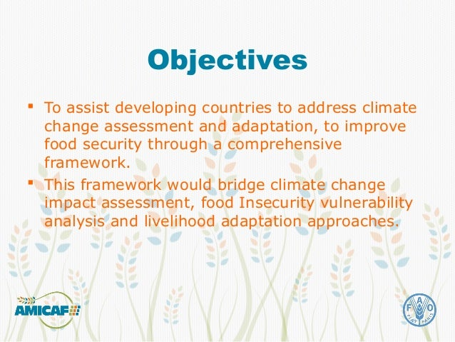 Climate change impacts and adaptation assessment