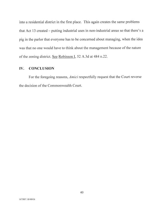 Amicus Curiae Brief from Delaware Riverkeeper in Gorsline v