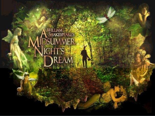 the literary tool of mirroring in shakespeares play a midsummer nights dream A summary of themes in william shakespeare's a midsummer night's dream though most of the conflict in the play stems / four nights will quickly dream.
