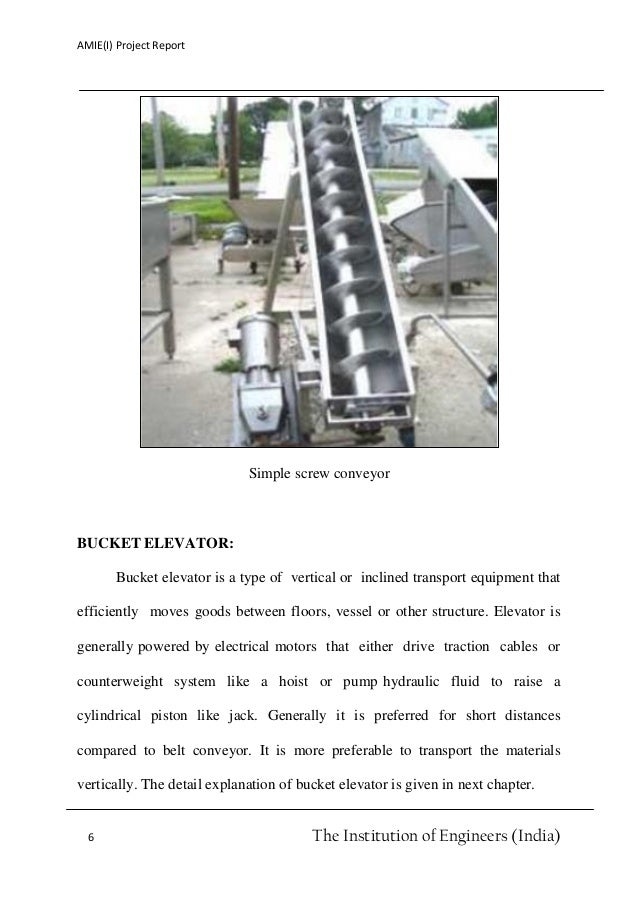 design of bucket elevator with auto belt tensioner unit rh slideshare net Excavator Bucket Bucket Elevator Components