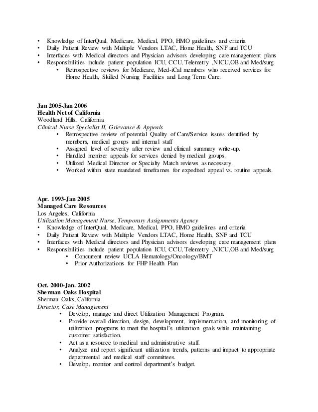 Snf Nurse Resume
