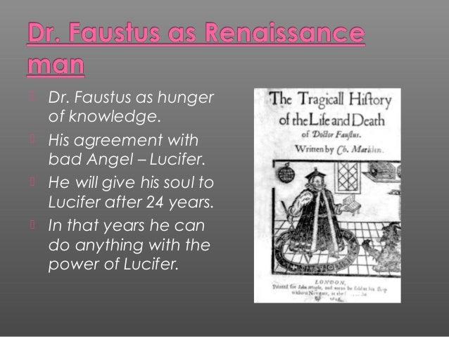 dr faustus as a man of renaissance