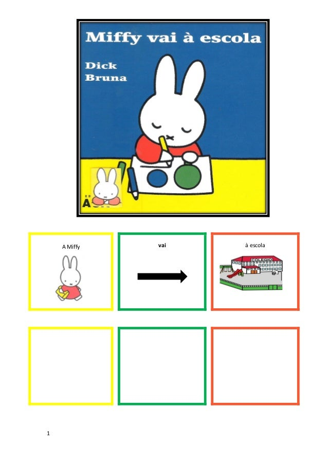 1 A Miffy vai à escola
