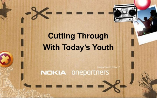 Cutting Through With Today's Youth