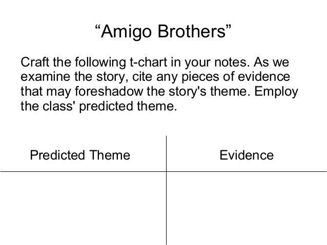 amigo brothers story