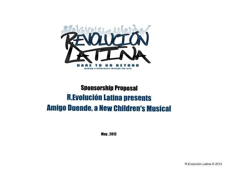 Amigo Duende Sponsorship Proposal Official