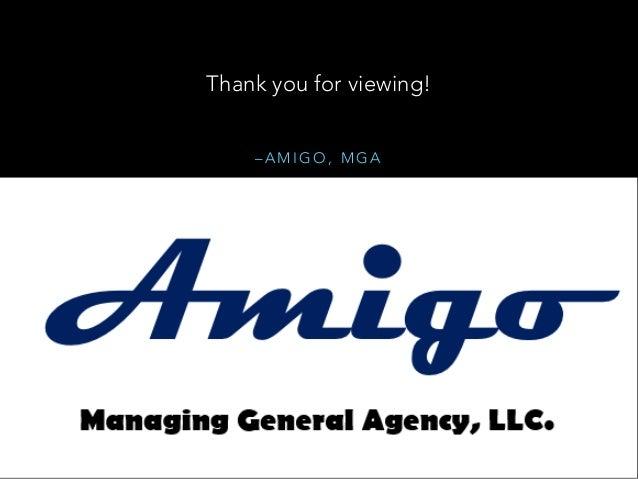 Customer Amigo Mga >> Amigo Mga Agency Best Practices