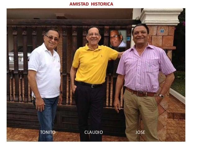 AMISTAD HISTORICATONITO CLAUDIO JOSE