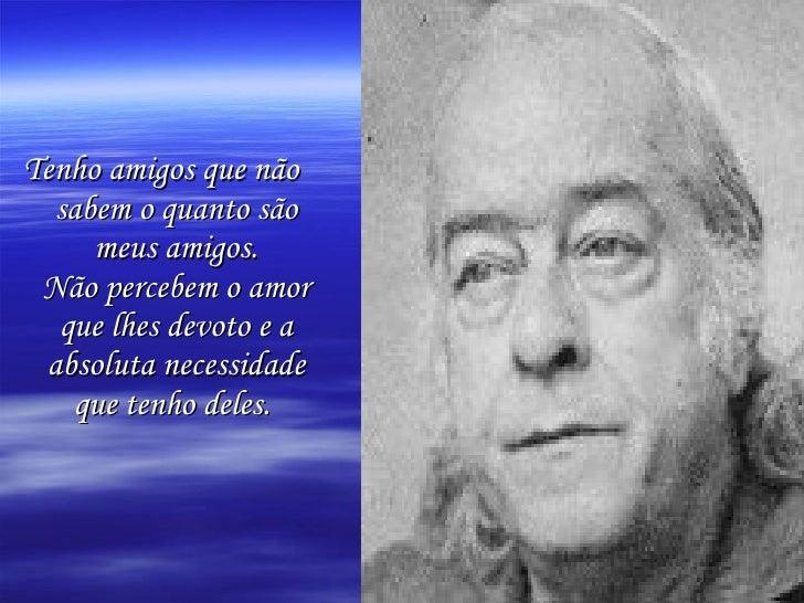 Amigos De Vinicius De Moraes