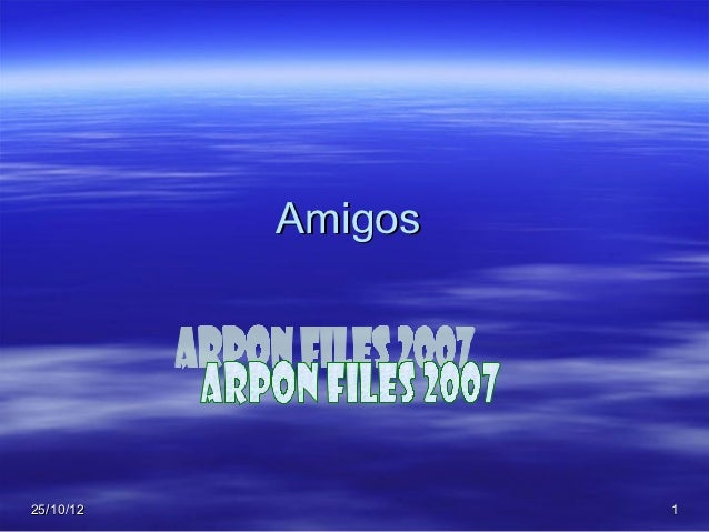 Amigos25/10/12            1
