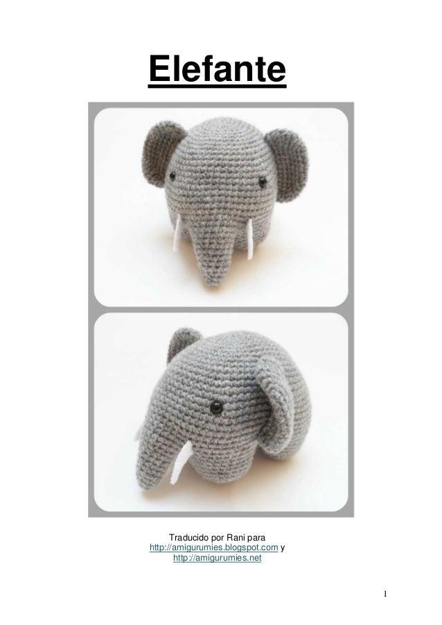 Patrón gratis amigurumi de elefantes colgantes | Amigurumi ... | 903x638