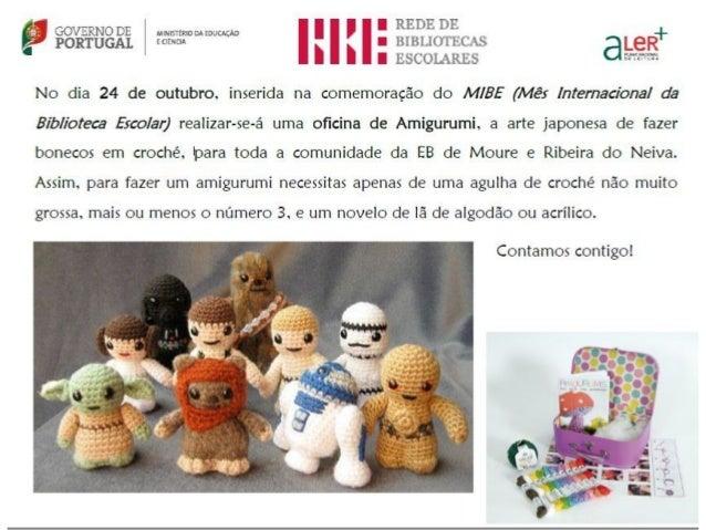 Amigurumi É uma técnica japonesa para criar pequenos bonecos feitos de croché ou tricô. Apesar da popularidade de bichos e...