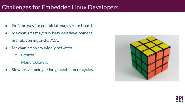 A million ways to provision embedded linux devices