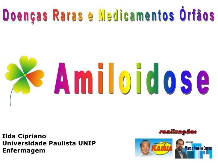 Ilda Cipriano Universidade Paulista UNIP Enfermagem