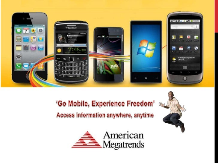 It is a Mobile world..397.1 million workers will be mobile by 20121.19 billion workers worldwide will be using mobile tech...