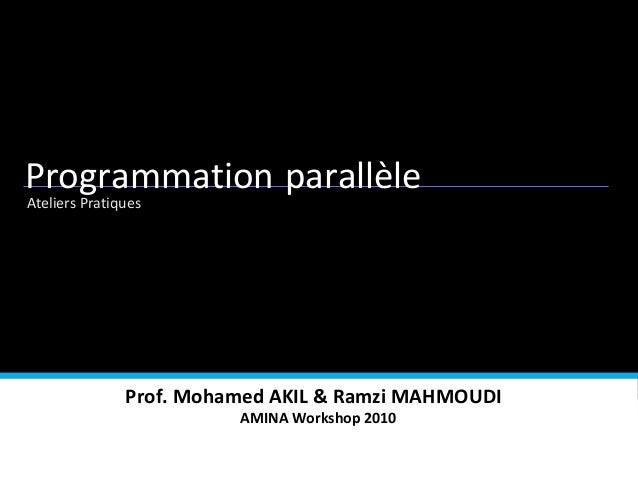 Andreea Dicu Alexandra Musat Carmen Neghina Psycho-economics Psychology Ateliers Pratiques Programmation parallèle Prof. M...