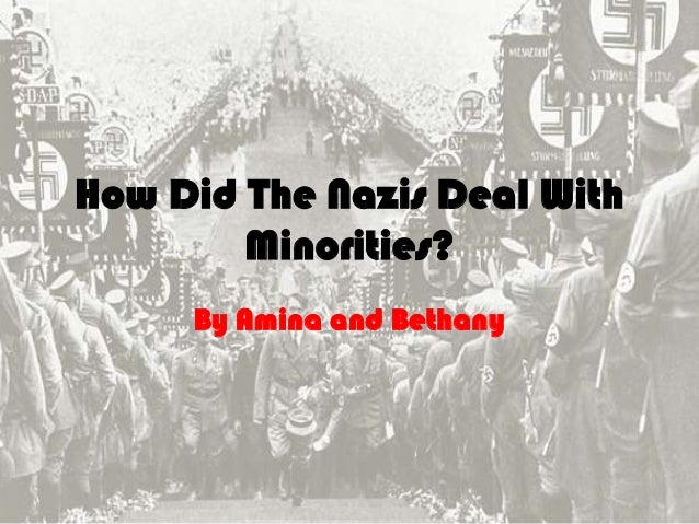 How Did The Nazis Deal With Minorities? By Amina and Bethany