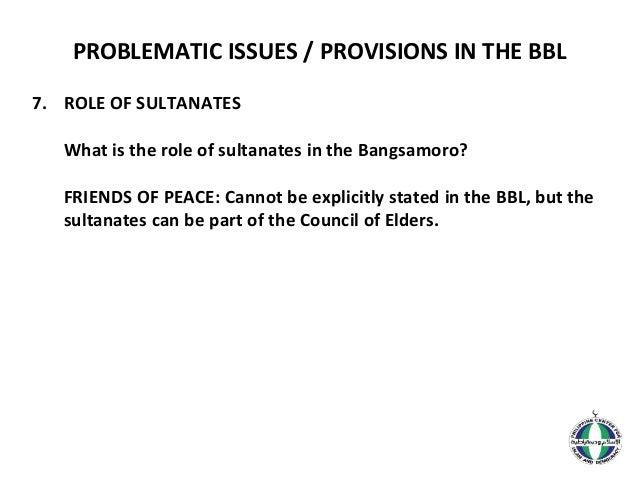 """bangsamoro and the moro problem The """"moro problem"""" involves muslim separatism and violent conflict in the southern philippines philippine the moro problem can be traced back to the spanish colonial period in dr peng hui's paper, she samuel k tan, internationalization of the bangsamoro struggle, quezon city: the center for."""
