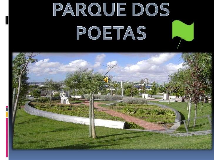 PARQUE DOS POETAS<br />