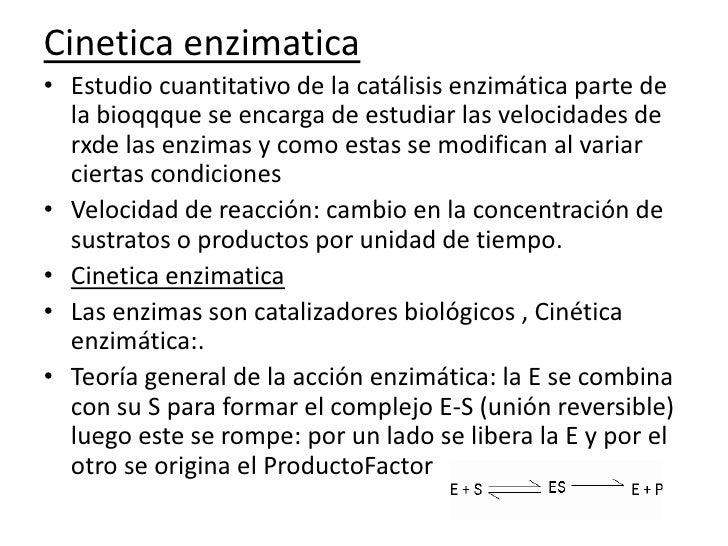 catalisis enzimatica En esta secuencia didáctica se explica qué son las enzimas, qué funciones  cumplen y qué tipos existen incluye una actividad de cierre sobre el uso de.