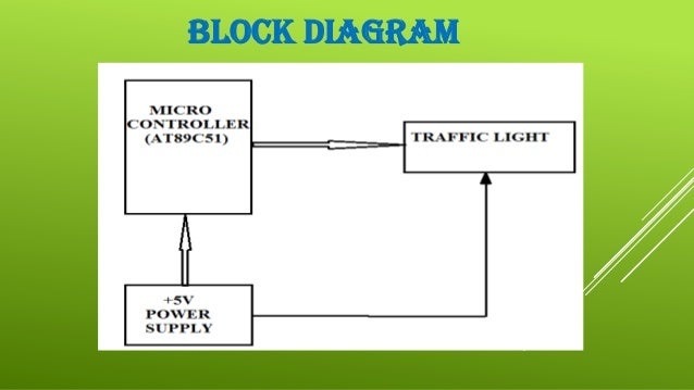 traffic light controller, Wiring block