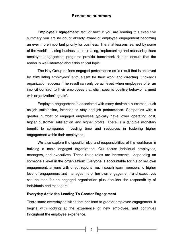 A minor project report – Executive Summary Format for Project Report