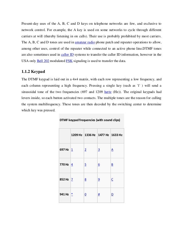 Dtmf controlled home appliances project report