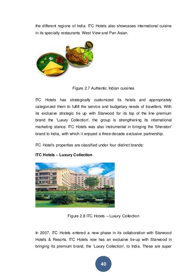 PRODUCT ANALYSIS OF ITC Ltd.
